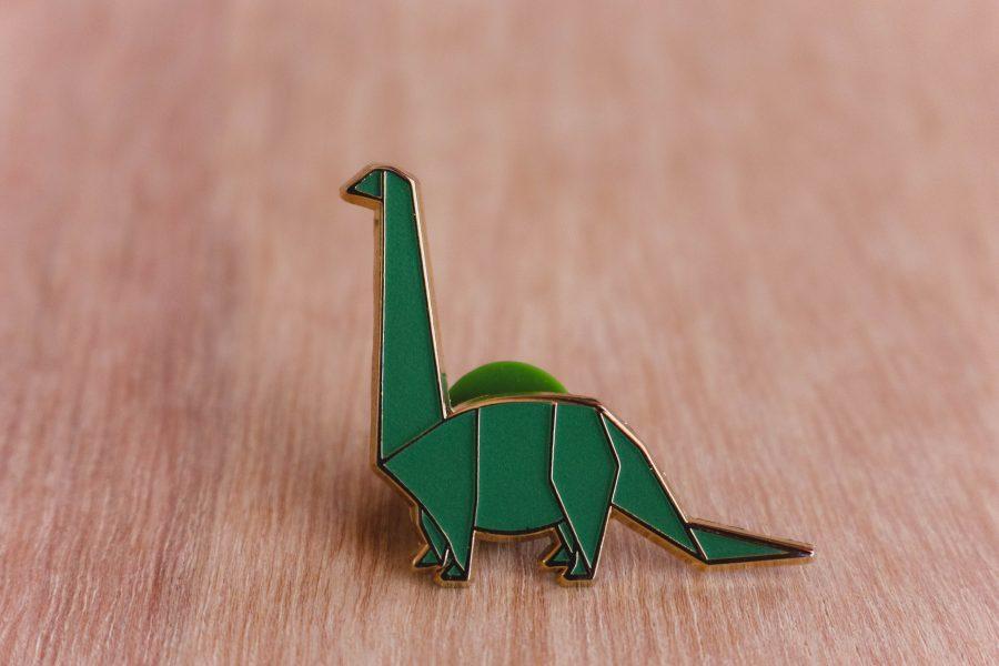 Diplodocus, brilla en la oscuridad