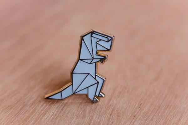 T-rex, brilla en la oscuridad